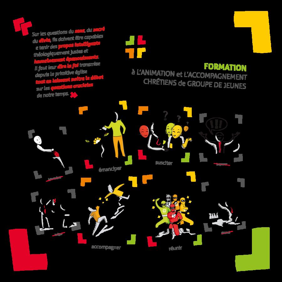 Illustration de la formation Croisillon